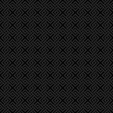 Geometric weave cross squares seamless pattern. Royalty Free Stock Image