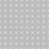 Geometric weave cross squares seamless pattern. Royalty Free Stock Photography