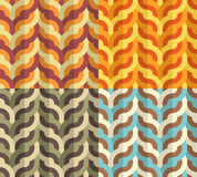 Geometric Weaving Pattern Royalty Free Stock Photography