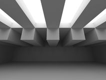 Geometric White Architecture Modern Design Background Royalty Free Stock Image
