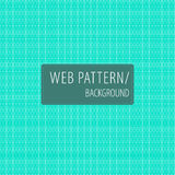 Geometric white-turquoise pattern-background. Vector pattern/background. Modern decorative texture. For web and print vector illustration