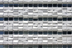 Geometric windows texture Royalty Free Stock Photos