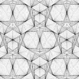Geometric Wire Line Structure  Illustration Vector Royalty Free Stock Photos