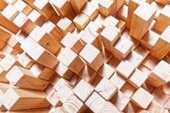 Geometric wood background Stock Images