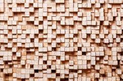 Geometric wood background Stock Photos