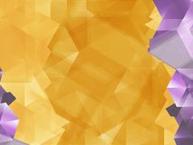 Geometric Yellow Background Stock Photos