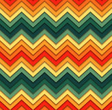 Geometric zigzag seamless pattern Royalty Free Stock Image