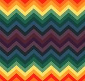 Geometric zigzag seamless pattern Stock Image