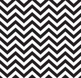Geometric zigzag seamless pattern Stock Photography