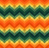 Geometric zigzag seamless pattern Stock Images