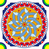 geometrica decorazione antica Стоковая Фотография