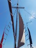 Geometrical łódź fotografia stock