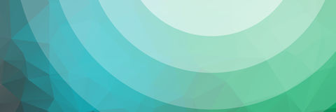 Geometrical abstract background. Abstract background in green and blue Stock Photography