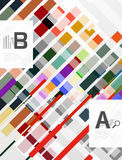 Geometrical abstract background with infographics. Geometrical  abstract background with infographics Royalty Free Stock Photography