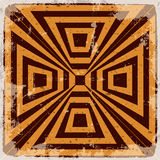 Geometrical abstract background Royalty Free Stock Photo