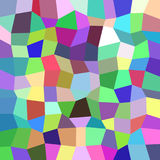 Geometrical abstract irregular polygon mosaic pattern background - polygonal vector design from rectangles Royalty Free Stock Photo