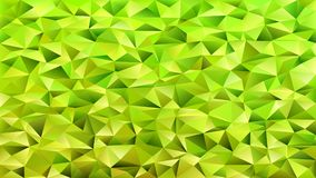 Geometrical abstract tiled triangle pattern background - vector mosaic design from lime green triangles. Geometrical abstract tiled triangle pattern background Stock Images