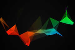 Geometrical abstraction Stock Image