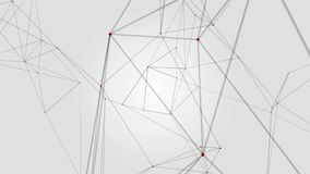 Geometrical abstraction on white background royalty free illustration