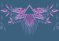 Geometrical abstrakci tło logo Fotografia Royalty Free