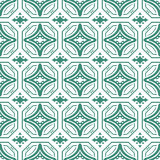 Geometrical Arabic islamic pattern background Stock Images