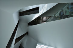 Geometrical architecture Royalty Free Stock Photos