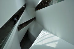 Geometrical architecture Royalty Free Stock Images