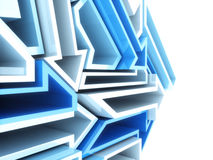 Geometrical background Royalty Free Stock Image