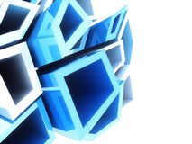 Geometrical background Royalty Free Stock Images