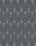 Geometrical background with hexagons Stock Photo