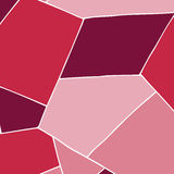 Geometrical background in pink. Tones Royalty Free Stock Photo