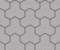 Geometrical background, seamless pattern, line design. Illustration Royalty Free Stock Photo