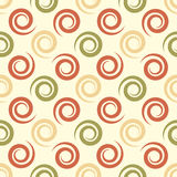 Geometrical background with spirals. Abstract seamless  Stock Photo