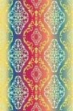 Geometrical barocco wzór Zdjęcie Royalty Free