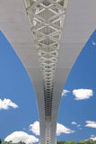 Geometrical bridge structure Stock Photography