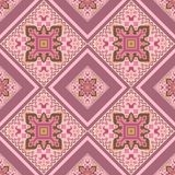 Geometrical color ornament in the Hungarian style. royalty free illustration