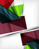 Geometrical colorful shapes abstract background. Geometrical shape abstract background. For business background | numbered banners | business lines | graphic Stock Photography