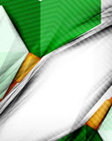 Geometrical colorful shapes abstract background Royalty Free Stock Images