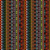 Geometrical ethnic motifs background. Geometrical colorful ethnic motifs background Stock Images