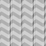 Geometrical fala zaświecają ciemnych linii bezszwowego wzór Obrazy Royalty Free