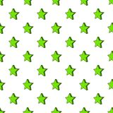 Geometrical figure of five pointed stars pattern Royalty Free Stock Image