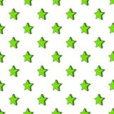 Geometrical figure of five pointed stars pattern. Cartoon illustration of  for web vector illustration