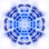 Geometrical flower Royalty Free Stock Images