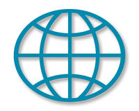 Geometrical Globe Royalty Free Stock Image