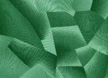 Geometrical green background Stock Photos