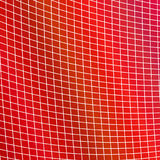 Geometrical grid background - red design from curved angular line grid Royalty Free Stock Photography