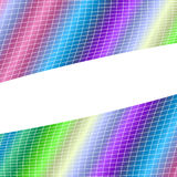 Geometrical grid background - vector illustration from curved angular lines Royalty Free Stock Photos