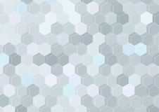Geometrical hexagon structure background template Royalty Free Stock Photo