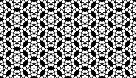 Geometrical line and star seamless pattern design Royalty Free Stock Photos