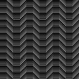 Geometrical lines shaded cubical seamless waves pattern on black. Background. Available in high-resolution jpeg in several sizes & editable eps file, can be Stock Images